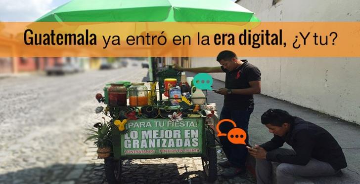 Guatemala ya entró en la era digital, ¿Y tu?
