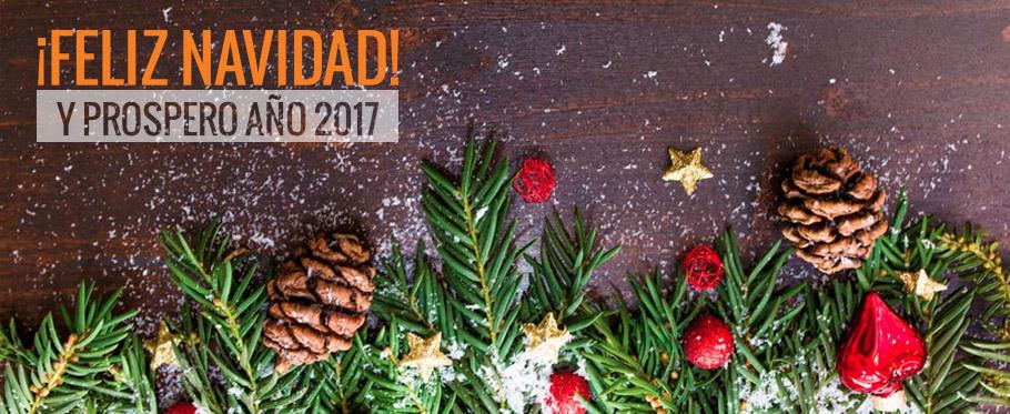 ¡Feliz Navidad y próspero 2017!